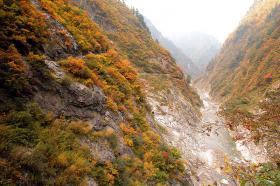 白竜峡~十字峡間