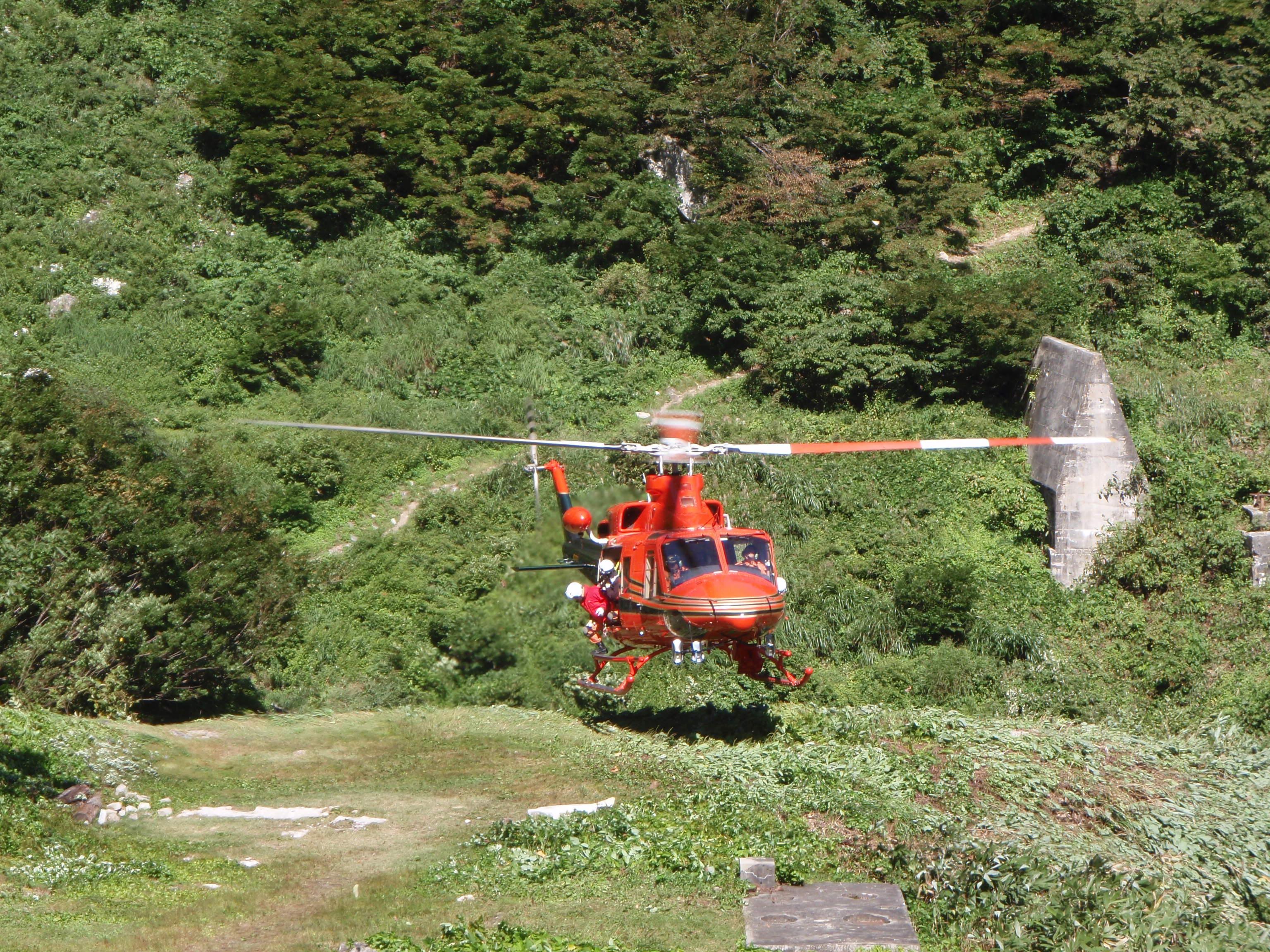 写真:消防防災ヘリ