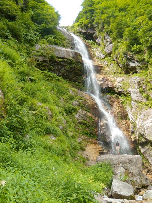 写真:オリオの大滝